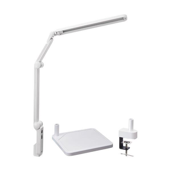 興和 LUPINUS LEDデスクライトEK320+クランプセット ホワイト EK320+CLAMP(WH) 1台 家電 生活家電 照明 レビュー投稿で次回使える2000円クーポン全員にプレゼント