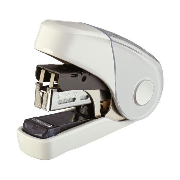 (まとめ)マックス サクリフラット HD-10FL3K/W ホワイト【×50セット】 生活用品・インテリア・雑貨 文具・オフィス用品 ホッチキス・ステープラー レビュー投稿で次回使える2000円クーポン全員にプレゼント