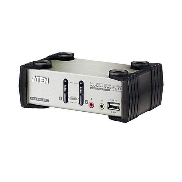 10000円以上送料無料 ATEN 2ポートデュアルインターフェース対応 USB2.0KVMPスイッチ OSD機能付 CS1732B 1台 AV・デジモノ パソコン・周辺機器 分配器・切替器 レビュー投稿で次回使える2000円クーポン全員にプレゼント