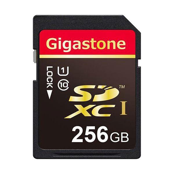 Gigastone SDXCカード256GB UHS-1 GJSX/256U 1枚 AV・デジモノ パソコン・周辺機器 USBメモリ・SDカード・メモリカード・フラッシュ SDカード レビュー投稿で次回使える2000円クーポン全員にプレゼント