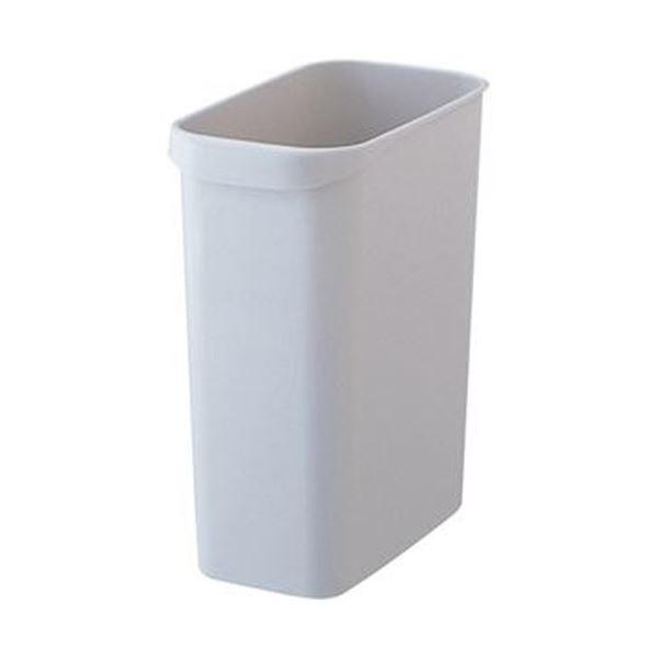 (まとめ)TANOSEE くず入れ 角型 12Lグレー 1個【×20セット】 生活用品・インテリア・雑貨 日用雑貨 ゴミ箱 レビュー投稿で次回使える2000円クーポン全員にプレゼント