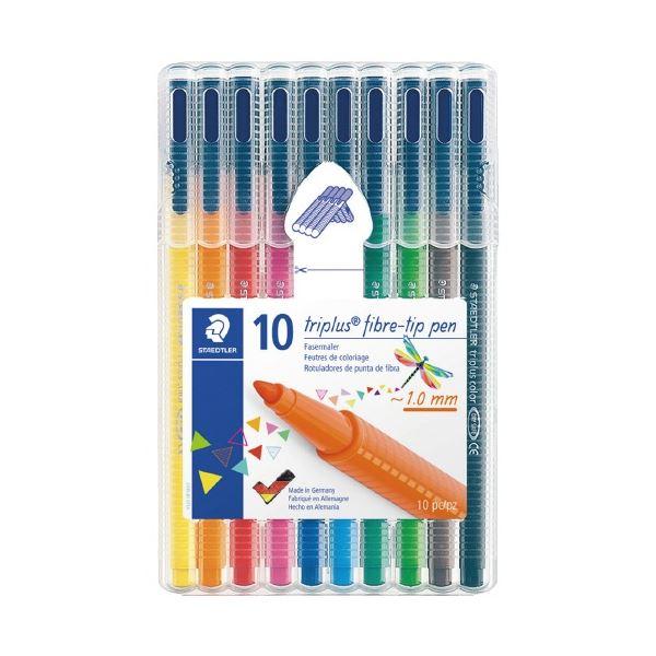 (まとめ)ステッドラー トリプラスカラーペン10色 323 SB10(×30セット) 生活用品・インテリア・雑貨 文具・オフィス用品 ペン・万年筆 レビュー投稿で次回使える2000円クーポン全員にプレゼント