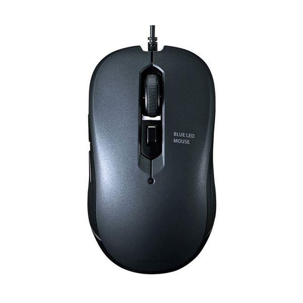 (まとめ) サンワサプライ 有線ブルーLEDマウスガンメタ MA-BL114GM 1個 【×10セット】 AV・デジモノ パソコン・周辺機器 マウス・マウスパッド レビュー投稿で次回使える2000円クーポン全員にプレゼント