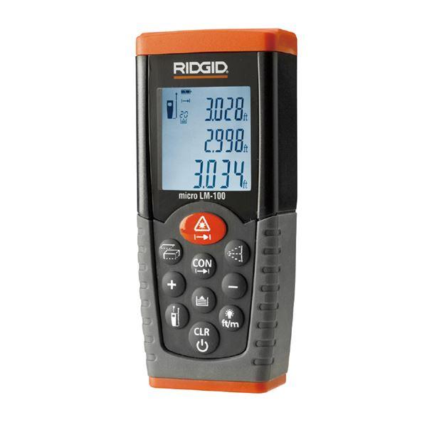 RIDGID(リジッド) 36158 MICRO LM-100 レーザー距離計 スポーツ・レジャー DIY・工具 計測用具 レビュー投稿で次回使える2000円クーポン全員にプレゼント
