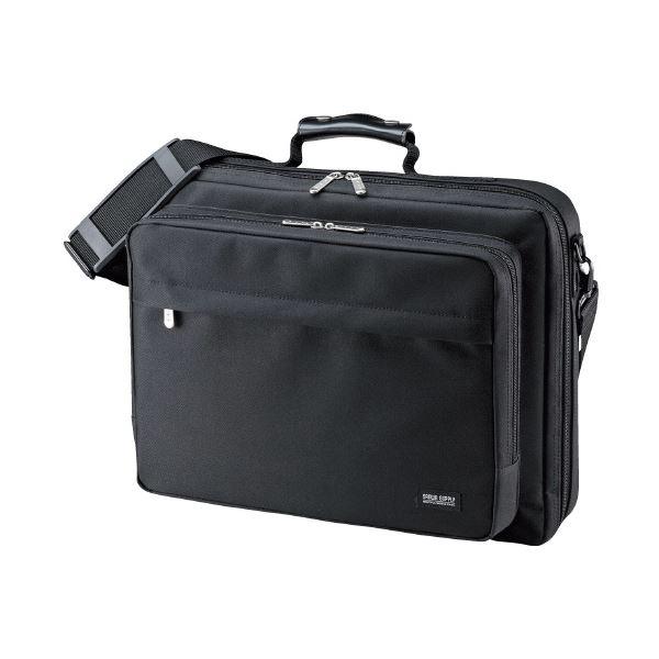 (まとめ)サンワサプライ PCキャリングバッグ BAG-U54BK2(×10セット) AV・デジモノ パソコン・周辺機器 インナーケース・インナーバッグ・PCバッグ レビュー投稿で次回使える2000円クーポン全員にプレゼント