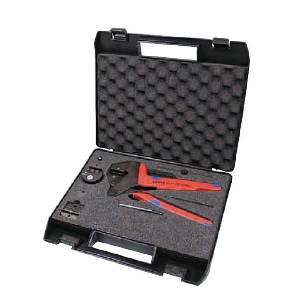 KNIPEX(クニペックス) 9743-200-MC4 MC4用クリンピングシステムプライヤーセット スポーツ・レジャー DIY・工具 その他のDIY・工具 レビュー投稿で次回使える2000円クーポン全員にプレゼント
