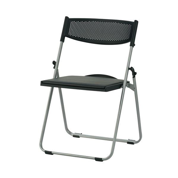 10000円以上送料無料 TOKIO 折畳イス NFA-700 座パッド付 ブラック 生活用品・インテリア・雑貨 インテリア・家具 椅子 その他の椅子 レビュー投稿で次回使える2000円クーポン全員にプレゼント