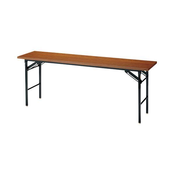 ジョインテックス 脚折りたたみテーブル DN-1T チーク 棚無 生活用品・インテリア・雑貨 インテリア・家具 テーブル その他のテーブル レビュー投稿で次回使える2000円クーポン全員にプレゼント