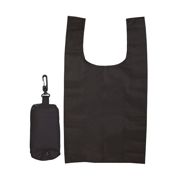 (まとめ) ジーナス ECO コンパクトマイバッグブラック 98080-BK 1枚 【×50セット】 生活用品・インテリア・雑貨 文具・オフィス用品 袋類 その他の袋類 レビュー投稿で次回使える2000円クーポン全員にプレゼント