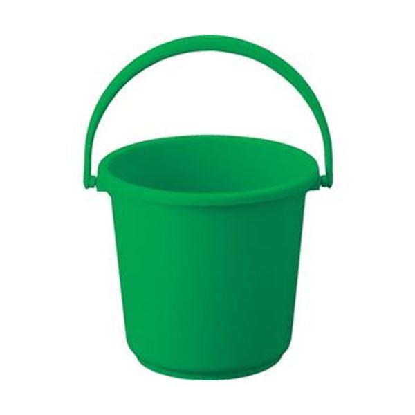 (まとめ)TRUSCO PPカラーバケツ 15L緑 TPPB-15-GN 1個【×10セット】 生活用品・インテリア・雑貨 日用雑貨 掃除用品 レビュー投稿で次回使える2000円クーポン全員にプレゼント