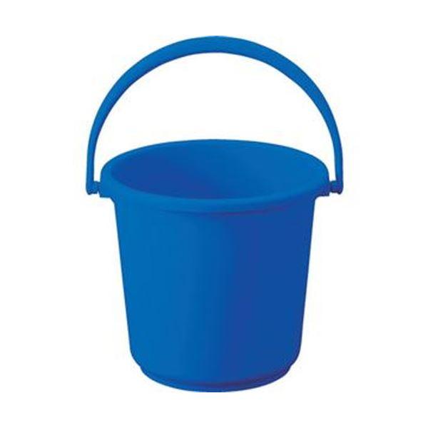 (まとめ)TRUSCO PPカラーバケツ 15L青 TPPB-15-B 1個【×10セット】 生活用品・インテリア・雑貨 日用雑貨 掃除用品 レビュー投稿で次回使える2000円クーポン全員にプレゼント