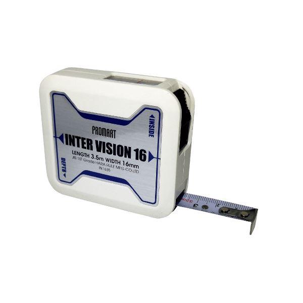 (まとめ)原度器 インタービジョン 16mm×3.5m IN1635【×10セット】 ホビー・エトセトラ 科学・研究・実験 計測器 レビュー投稿で次回使える2000円クーポン全員にプレゼント