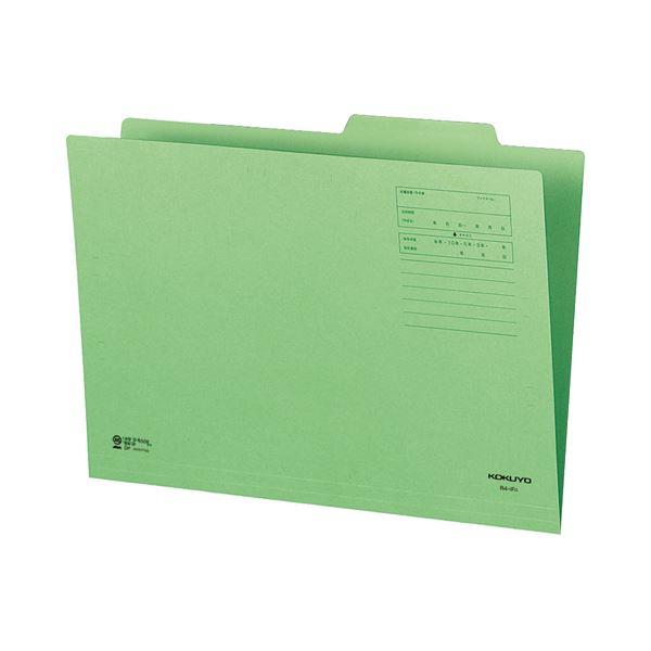 (まとめ) コクヨ 個別フォルダー(カラー) B4 緑 B4-IFG 1セット(10冊) 【×10セット】 生活用品・インテリア・雑貨 文具・オフィス用品 その他の文具・オフィス用品 レビュー投稿で次回使える2000円クーポン全員にプレゼント
