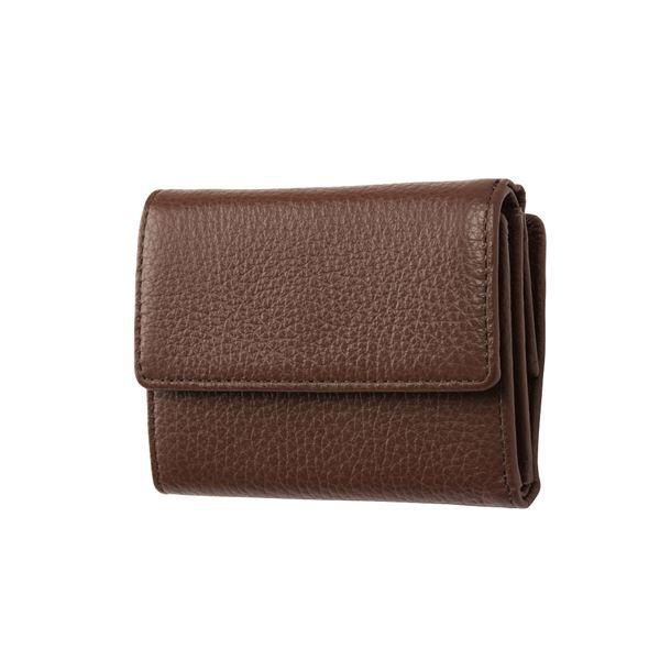 FRUH(フリュー) イタリアンレザー 3つ折り財布 コンパクトウォレット GL032-BR ブラウン ファッション 財布・キーケース・カードケース 財布 その他の財布 レビュー投稿で次回使える2000円クーポン全員にプレゼント