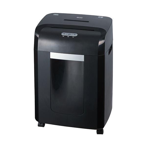 ナカバヤシ パーソナルシュレッダ A4マイクロカット ブラック NSE-516BK 1台 生活用品・インテリア・雑貨 文具・オフィス用品 シュレッダー レビュー投稿で次回使える2000円クーポン全員にプレゼント
