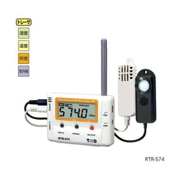 おんどとり Jr.Wireless RTR-574-S ホビー・エトセトラ 科学・研究・実験 計測器 レビュー投稿で次回使える2000円クーポン全員にプレゼント