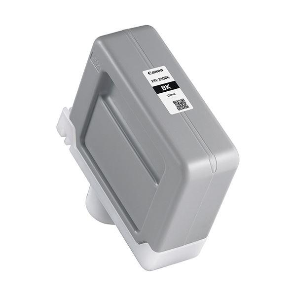 キヤノン インクタンクPFI-310BK ブラック 330ml 2359C001 1個 AV・デジモノ パソコン・周辺機器 インク・インクカートリッジ・トナー インク・カートリッジ キャノン(CANON)用 レビュー投稿で次回使える2000円クーポン全員にプレゼント