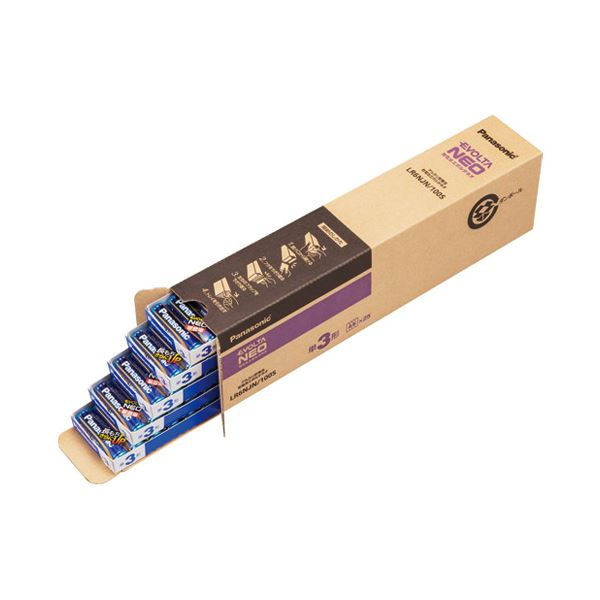 Panasonic 乾電池エボルタネオ単3形100本 LR6NJN/100S 家電 電池・充電池 レビュー投稿で次回使える2000円クーポン全員にプレゼント