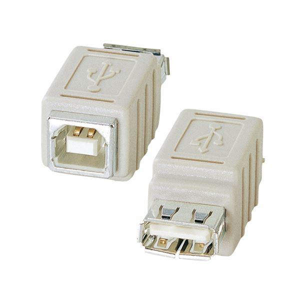 (まとめ) サンワサプライ USBアダプタ(A)メス-(B)メス AD-USB6 1個 【×10セット】 AV・デジモノ パソコン・周辺機器 ケーブル・ケーブルカバー その他のケーブル・ケーブルカバー レビュー投稿で次回使える2000円クーポン全員にプレゼント