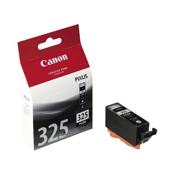 (まとめ) キヤノン Canon インクタンク BCI-325PGBK ブラック 4528B001 1個 【×10セット】 AV・デジモノ パソコン・周辺機器 インク・インクカートリッジ・トナー インク・カートリッジ キャノン(CANON)用 レビュー投稿で次回使える2000円クーポン全員にプレゼント