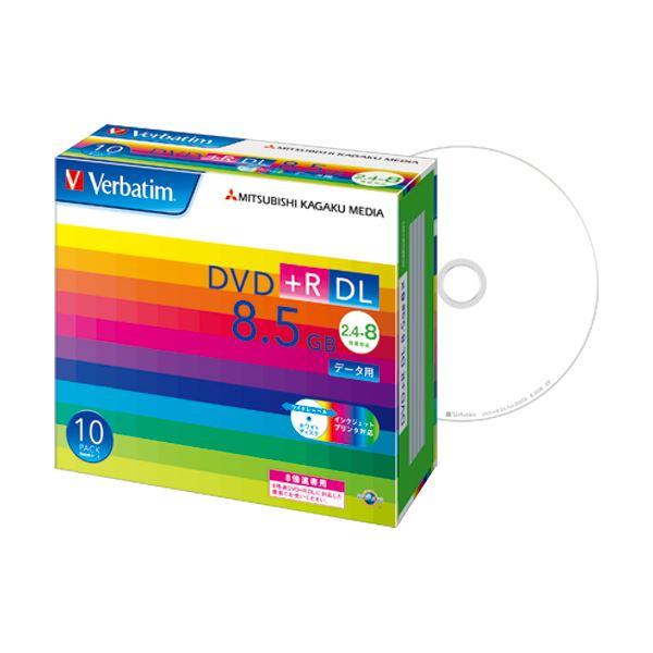 (まとめ) バーベイタム データ用DVD+R DL 8.5GB 8倍速 ワイドプリンターブル 5mmスリムケース DTR85HP10V1 1パック(10枚) 【×5セット】 AV・デジモノ パソコン・周辺機器 その他のパソコン・周辺機器 レビュー投稿で次回使える2000円クーポン全員にプレゼント