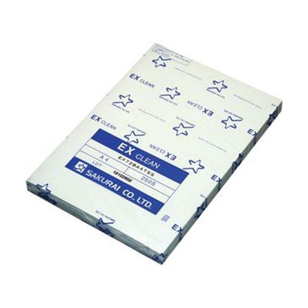 (まとめ)桜井 EXクリーン A4 ブルーEX72BA4SS 1冊(250枚)【×10セット】 AV・デジモノ パソコン・周辺機器 用紙 その他の用紙 レビュー投稿で次回使える2000円クーポン全員にプレゼント