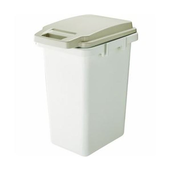 (まとめ)TRUSCO連結ワンハンドパッキンペール 45L ベージュ TRHPP-45-BG 1個【×5セット】 生活用品・インテリア・雑貨 日用雑貨 ゴミ箱 レビュー投稿で次回使える2000円クーポン全員にプレゼント