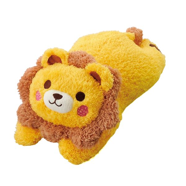 (まとめ)わんこだっこまくら ライオン (ペット用品) (×10セット) ホビー・エトセトラ ペット 犬 おもちゃ レビュー投稿で次回使える2000円クーポン全員にプレゼント