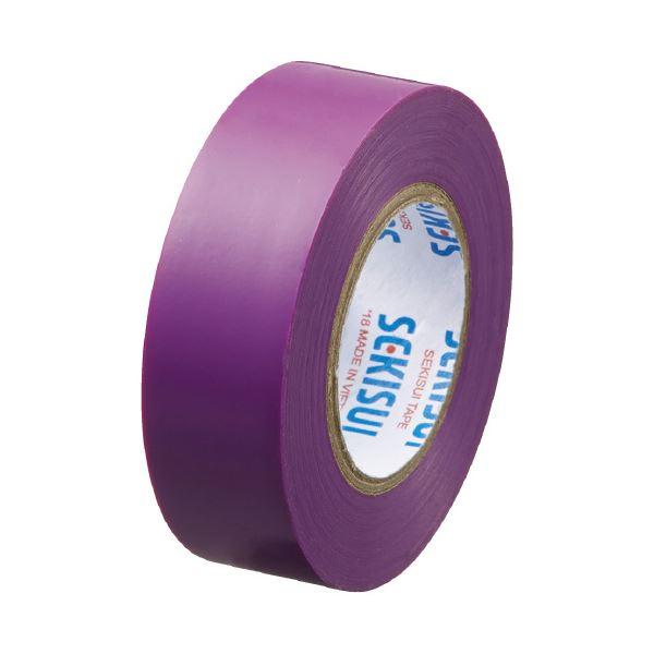 (まとめ)セキスイ エスロンテープ #360 19mm×10m 紫 V360E1N(×300セット) 生活用品・インテリア・雑貨 文具・オフィス用品 テープ・接着用具 レビュー投稿で次回使える2000円クーポン全員にプレゼント