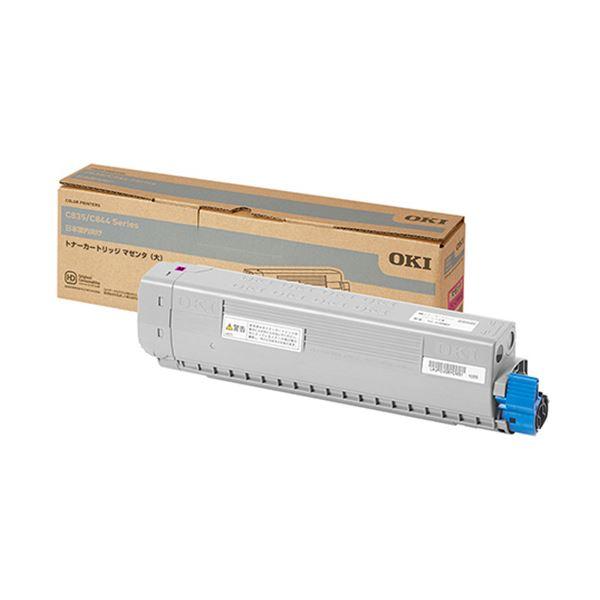 沖データ トナーカートリッジ マゼンタ(大)TC-C3BM2 1個 AV・デジモノ パソコン・周辺機器 インク・インクカートリッジ・トナー トナー・カートリッジ 沖データ(OKI)用 レビュー投稿で次回使える2000円クーポン全員にプレゼント