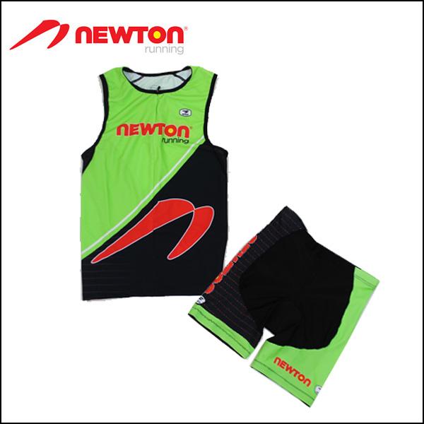 Limited model nttw-grn trailer NEWTON RUNNING TRI WEAR GREEN/MENS/ICQ04 ICS82