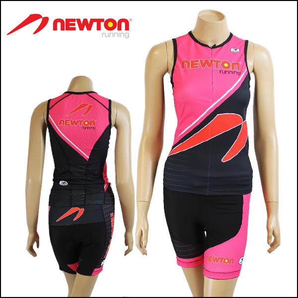 Limited model nttw-pnkNEWTON RUNNING TRI WEAR PINK/Womens/Femmes ICQ04 ICS82