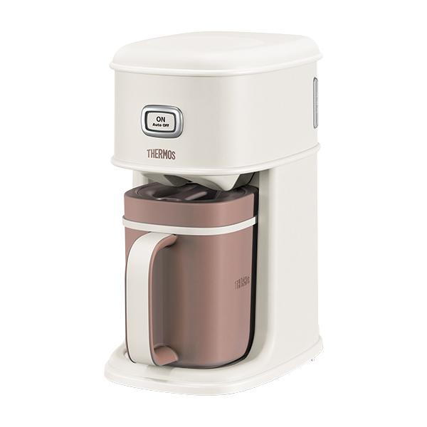 10000円以上送料無料 サーモス THERMOS アイスコーヒーメーカー サーバー ECI660-VWH バニラホワイト 【家電 コーヒーメーカー】 レビュー投稿で次回使える2000円クーポン全員にプレゼント
