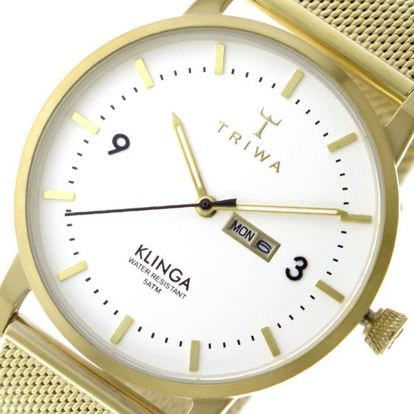 10000円以上 トリワ TRIWA クオーツ ユニセックス 腕時計 KLST103-ME021313 ホワイト 【腕時計 海外インポート品】 レビュー投稿で次回使える2000円クーポン全員にプレゼント