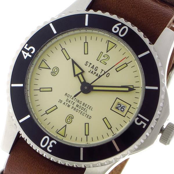 10000円以上 スタッグ STAG TYO クォーツ メンズ 腕時計 STG018LT1 ベージュ 【腕時計 国内正規品】 レビュー投稿で次回使える2000円クーポン全員にプレゼント