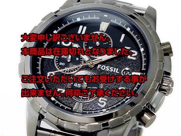 Off the next 2,000 yen in the review directly from fossil FOSSIL chronograph men's watch FS4721