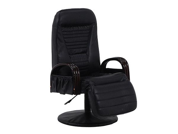 5000円以上送料無料 フロアチェア FLOOR CHAIR 回転座椅子 LZ-4129BK 【代引不可】 【インテリア 椅子・ソファ】 レビュー投稿で次回使える2000円クーポン全員にプレゼント