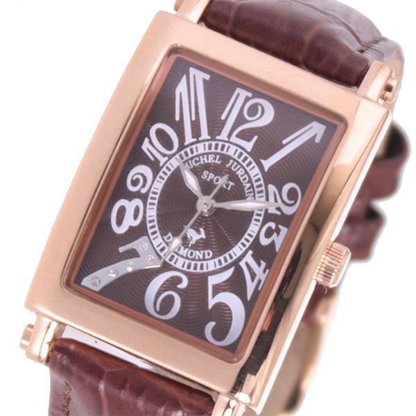 5000円以上 ミッシェルジョルダン MICHEL JURDAIN  クオーツ レディース 腕時計 SL-3000-10PG ブラウン 【腕時計 国内正規品】 レビュー投稿で次回使える2000円クーポン全員にプレゼント