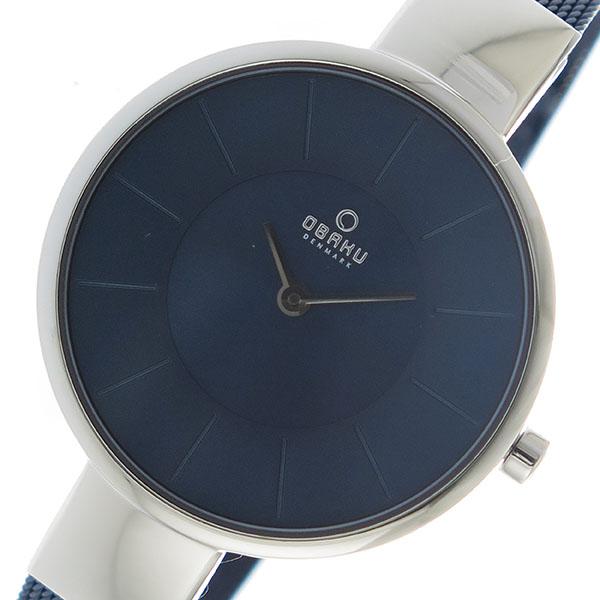 5000円以上 オバク OBAKU クオーツ ユニセックス 腕時計 V149LXCLML ネイビー 【腕時計 海外インポート品】 レビュー投稿で次回使える2000円クーポン全員にプレゼント