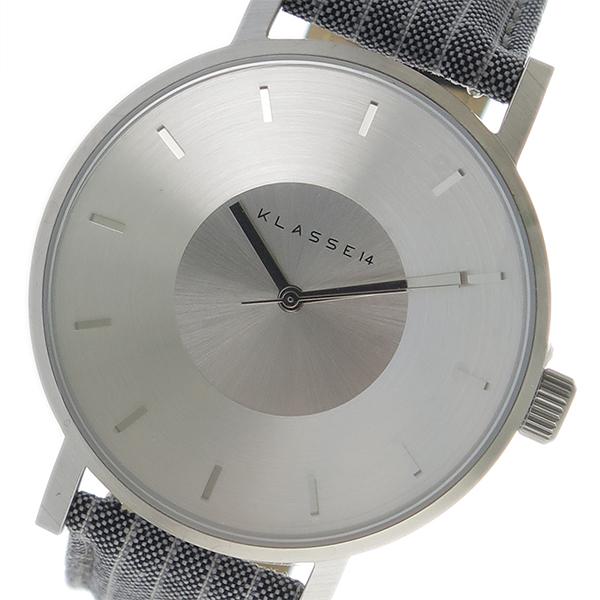 10000円以上 クラス14 KLASSE14 クオーツ ユニセックス 腕時計 VO17SA011M シルバー 【 】 レビュー投稿で次回使える2000円クーポン全員にプレゼント