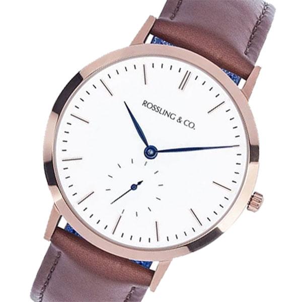 5000円以上 ROSSLING ロスリング MODERN 36MM WESTHILL レディース 腕時計 RO-003-001 ブラウン/ホワイト 【腕時計 海外インポート品】 レビュー投稿で次回使える2000円クーポン全員にプレゼント