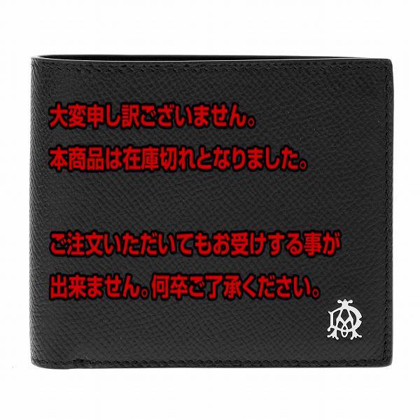 10000円以上送料無料 ダンヒル DUNHILL 二つ折り財布 メンズ L2AC32A ブラック 【財布・小物 財布】 レビュー投稿で次回使える2000円クーポン全員にプレゼント