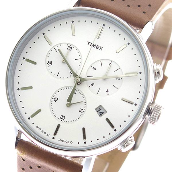 5000円以上送料無料 タイメックス TIMEX 腕時計 メンズ TW2R26700 クォーツ ホワイト キャメル 【腕時計 海外インポート品】 レビュー投稿で次回使える2000円クーポン全員にプレゼント