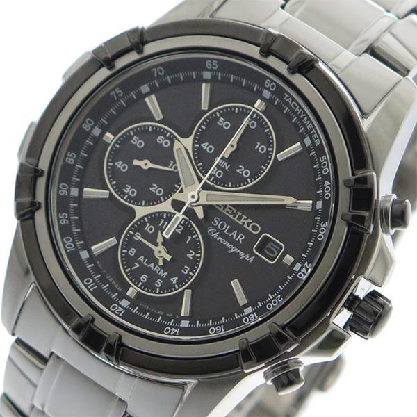 10000円以上 セイコー SEIKO 腕時計 メンズ SSC147P1 クォーツ ブラック シルバー 【腕時計 海外インポート品】 レビュー投稿で次回使える2000円クーポン全員にプレゼント