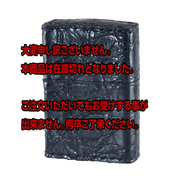 10000円以上送料無料 ジッポ ZIPPO アニマルレザー メンズ ライター 2Z-CROCOBK ブラック 【喫煙具 ZIPPO】 レビュー投稿で次回使える2000円クーポン全員にプレゼント