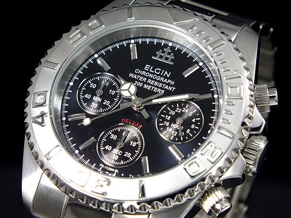 10000円以上送料無料 エルジン ELGIN クロノグラフ 腕時計 FK1120S-BN 【腕時計 国内正規品】 レビュー投稿で次回使える2000円クーポン全員にプレゼント