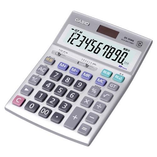 10000円以上送料無料 カシオ 本格実務電卓 DS-10WK(1コ入) 家電 情報家電 電卓 レビュー投稿で次回使える2000円クーポン全員にプレゼント