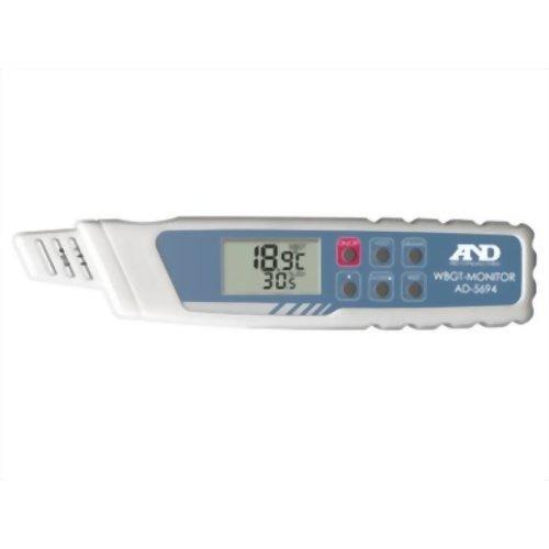 10000円以上送料無料 A&D 携帯型熱中症指数モニター AD-5694(1台) 家電 測定器 温度計・湿度計 レビュー投稿で次回使える2000円クーポン全員にプレゼント