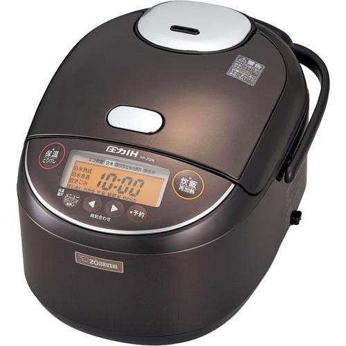 10000円以上送料無料 象印 圧力IH炊飯ジャー 1升炊き NP-ZG18-TD ダークブラウン(1台) 家電 調理家電 炊飯器 レビュー投稿で次回使える2000円クーポン全員にプレゼント