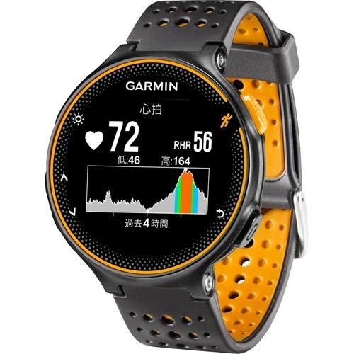 10000円以上送料無料 GARMIN(ガーミン) ForeAthlete 235J BlackOrange (日本正規品) 37176J(1コ入) 家電 測定器 時計・腕時計 レビュー投稿で次回使える2000円クーポン全員にプレゼント
